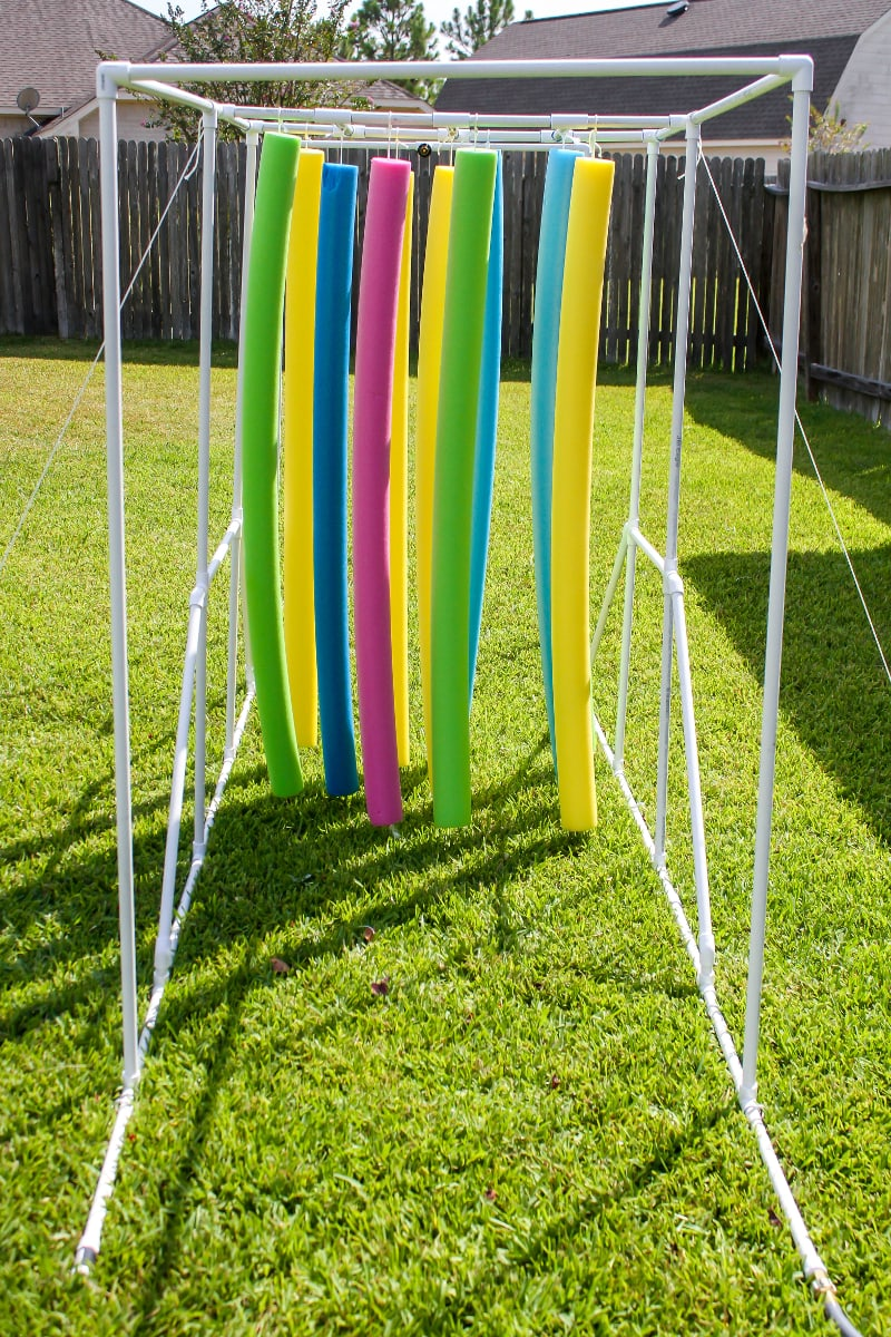 DIY Sprinkler Relay - a fun, inexpensive and great way to provide hours of entertainment during the summer.