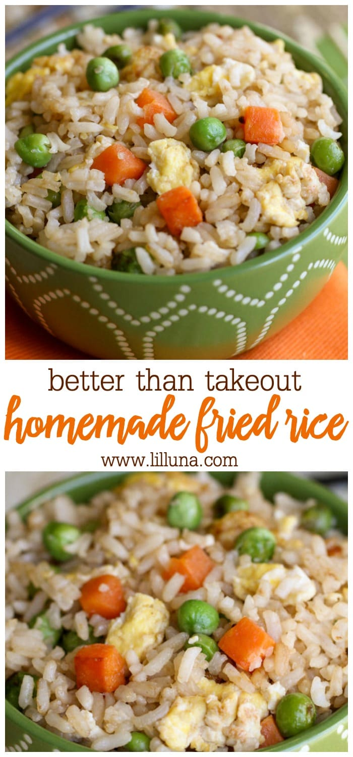 Delicious and easy homemade fried rice recipe