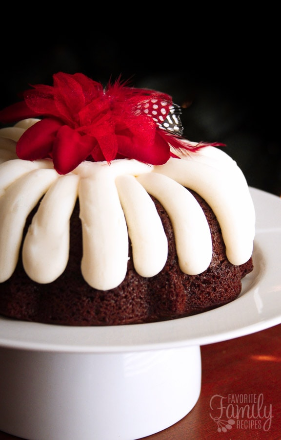 Nothing Bundt Chocolate Cake