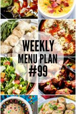 Weekly Menu Plan 99