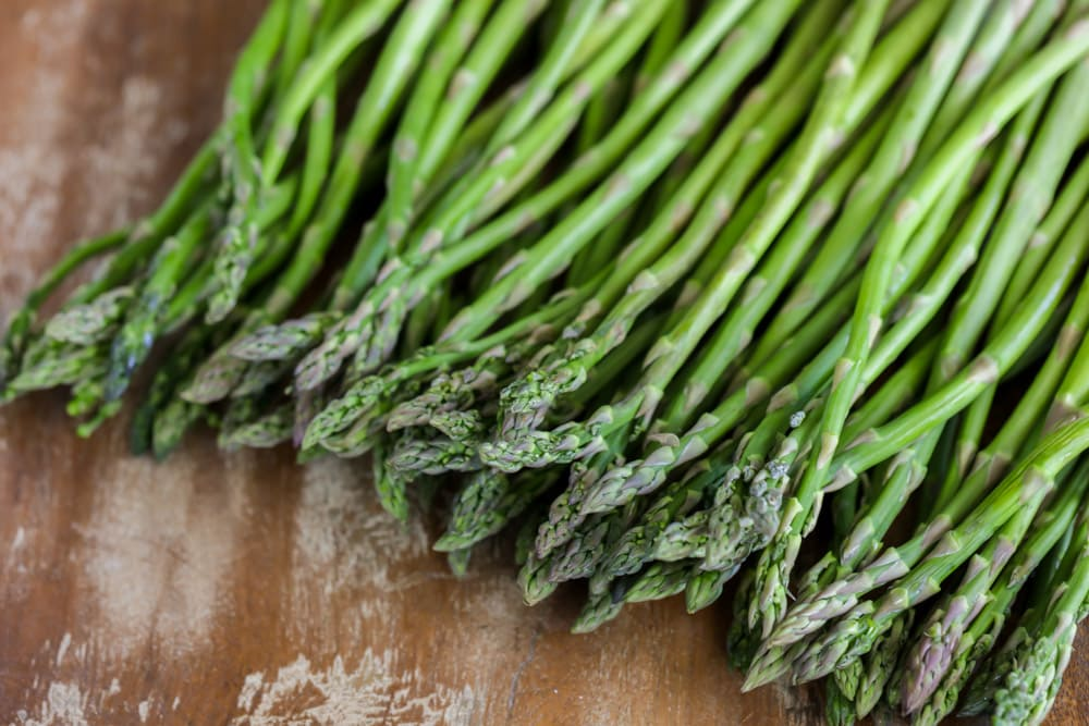 Fresh asparagus to use for orange chicken and asparagus recipe