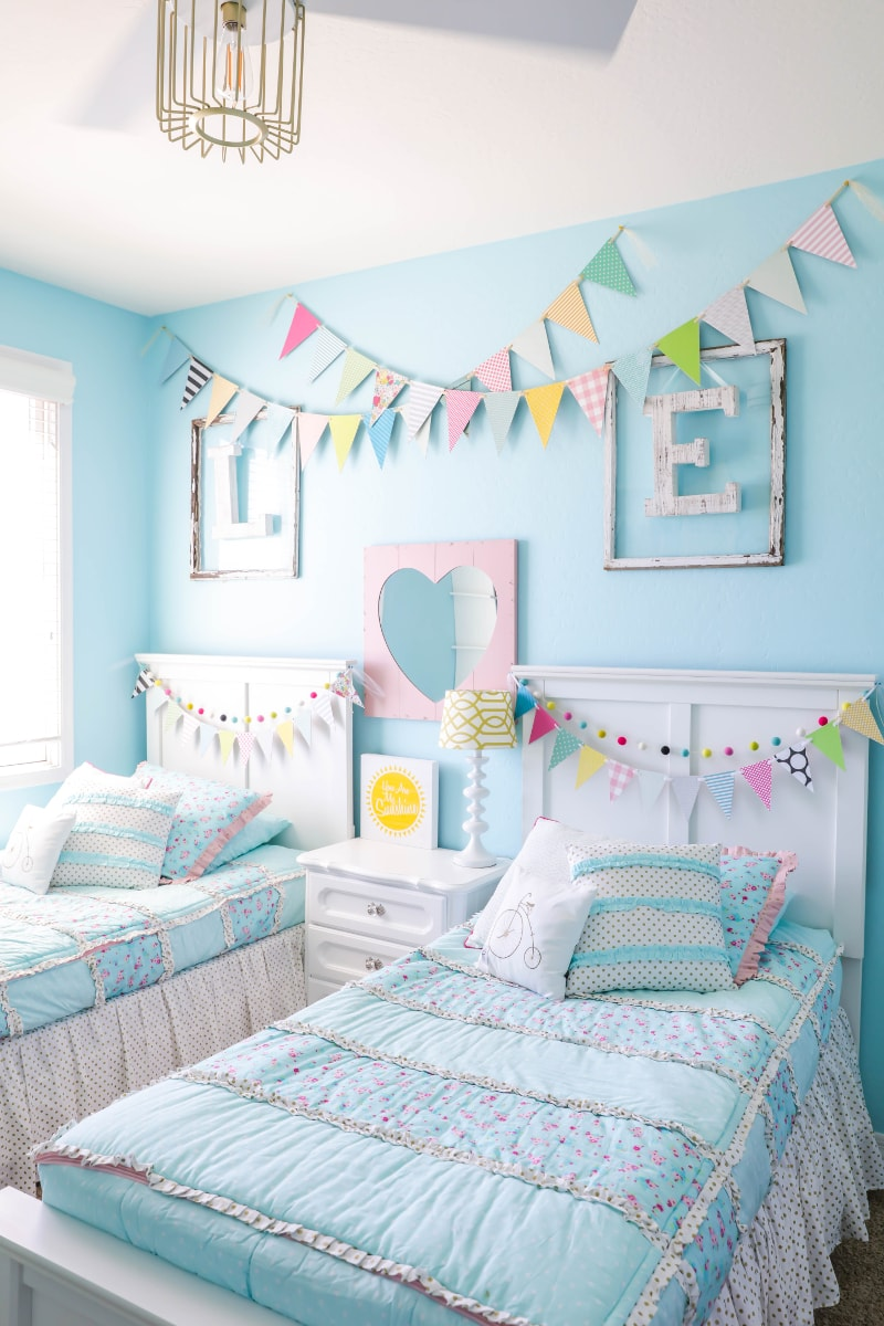 Decorating Ideas For Kidsu0027 Rooms + Girls Room Makeover