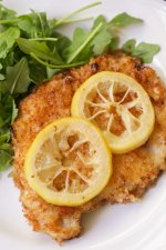 Fried Pork Chops in Lemon Butter Sauce