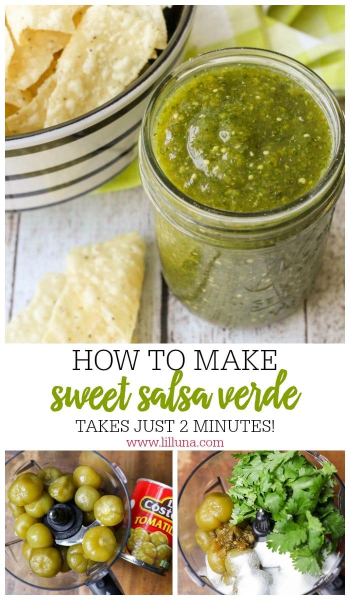 Salsa Verde aka Green Salsa Recipe