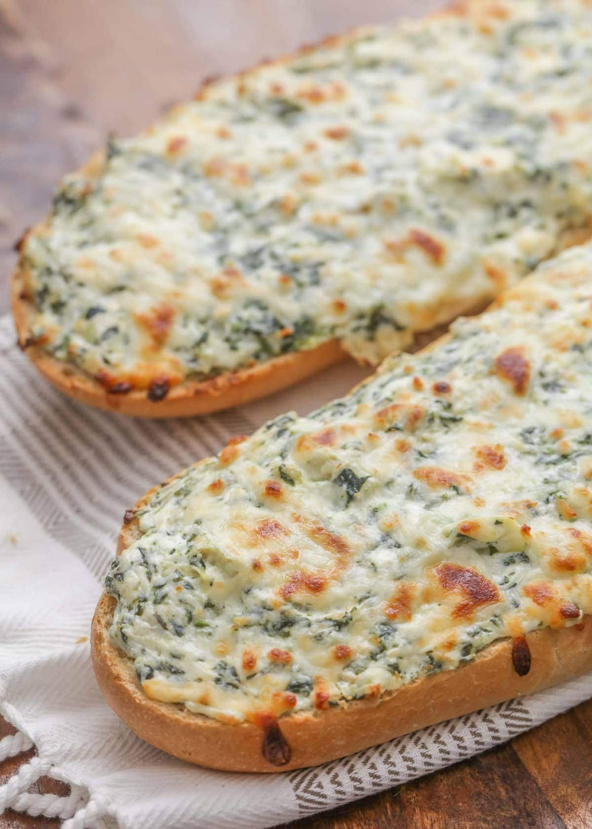 Spinach Artichoke Stuffed Bread