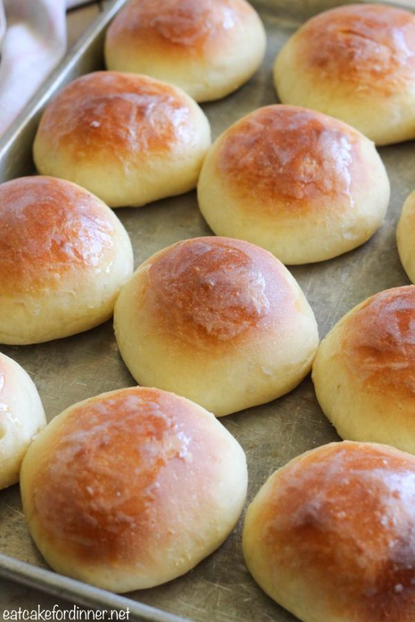 Perfect Soft Buttery Rolls
