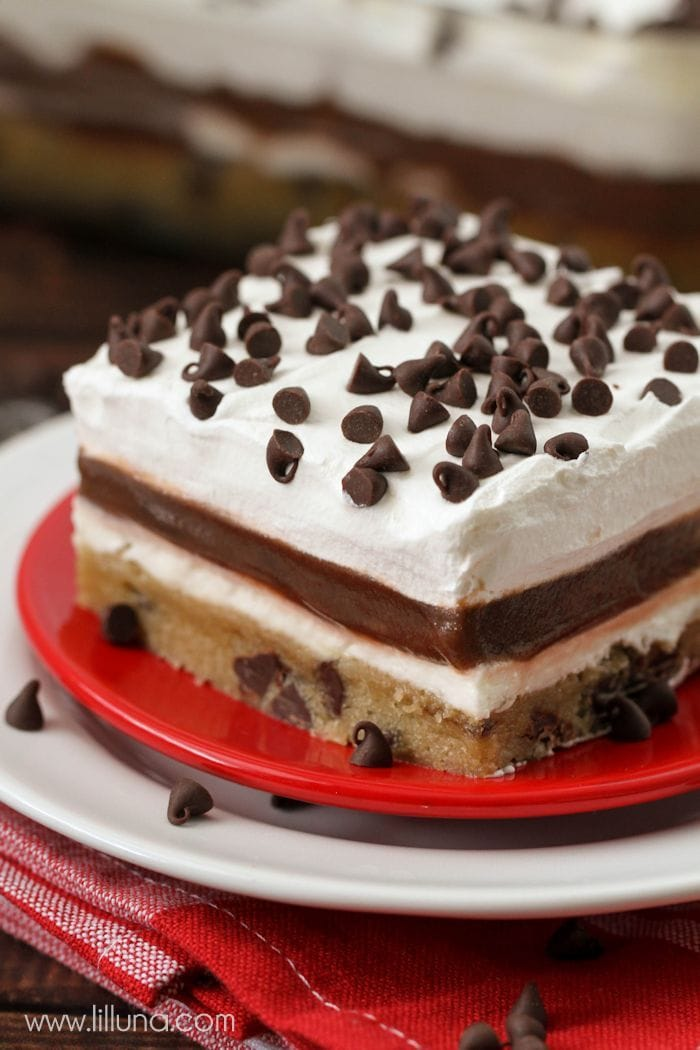 Layered Chocolate Delight Cake