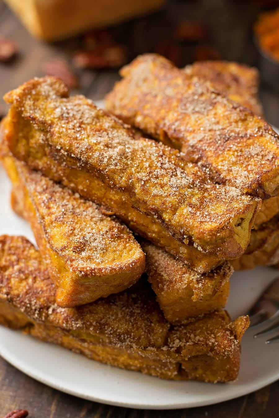 Pumpkin French Toast Sticks Recipe