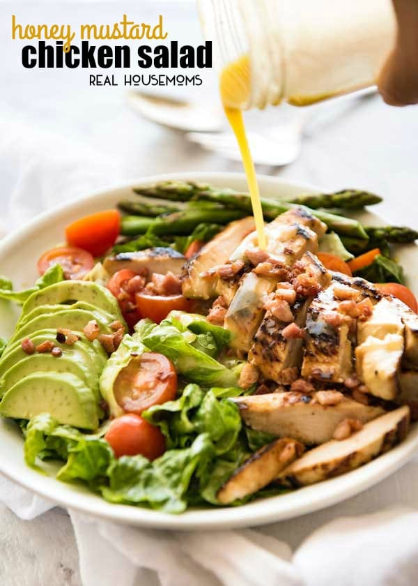Honey Mustard Chicken Salad