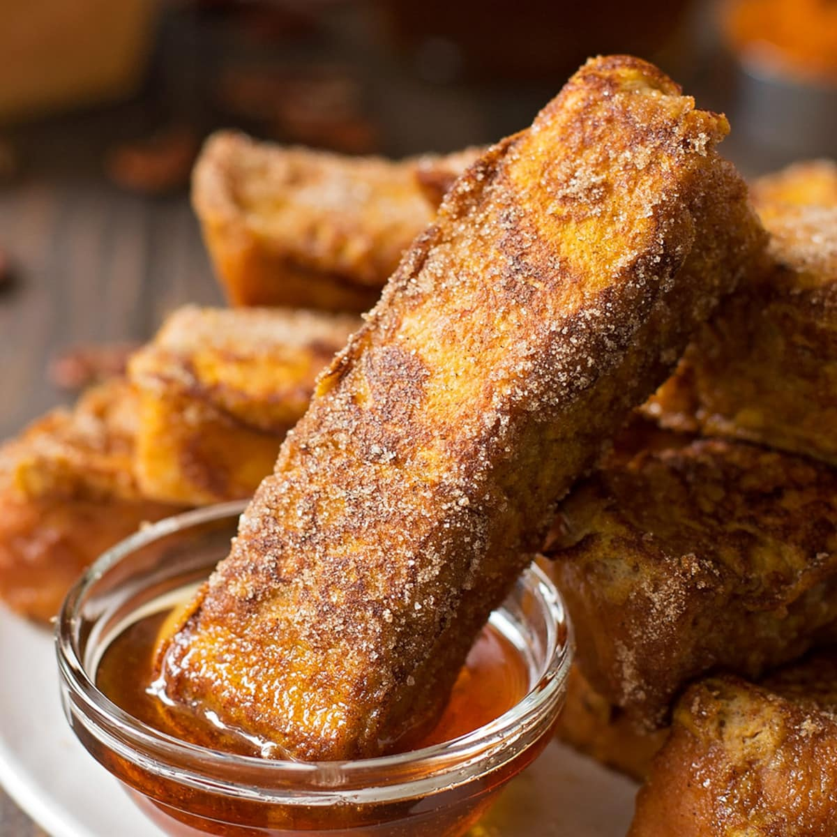 Pumpkin French Toast Sticks