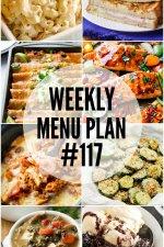 Weekly Menu Plan #117