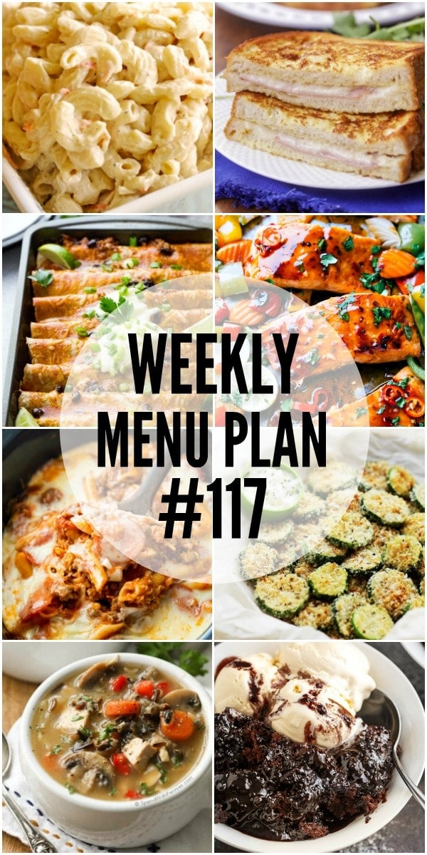 A delicious collection of dinner, side dish and dessert recipes to help you in planning your weekly menu each week.