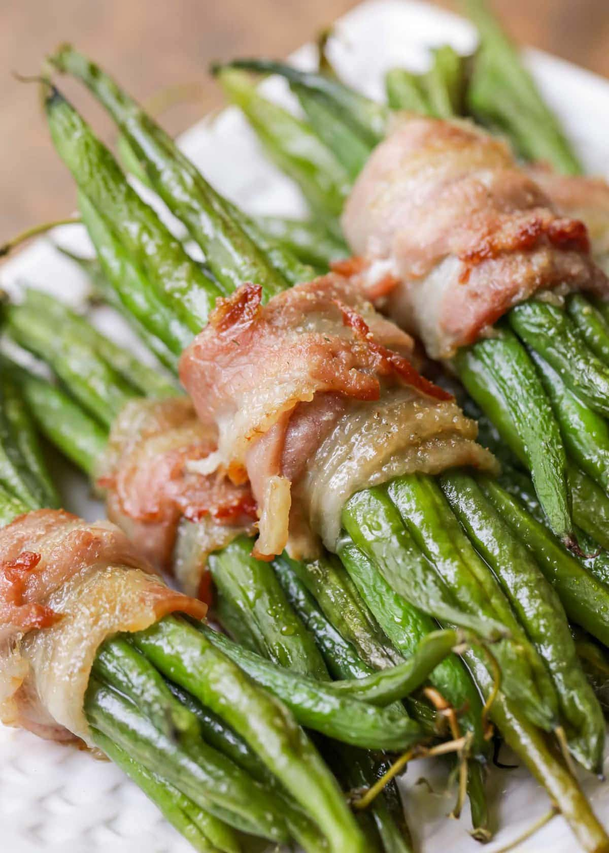 Green Beans with Bacon and Brown Sugar
