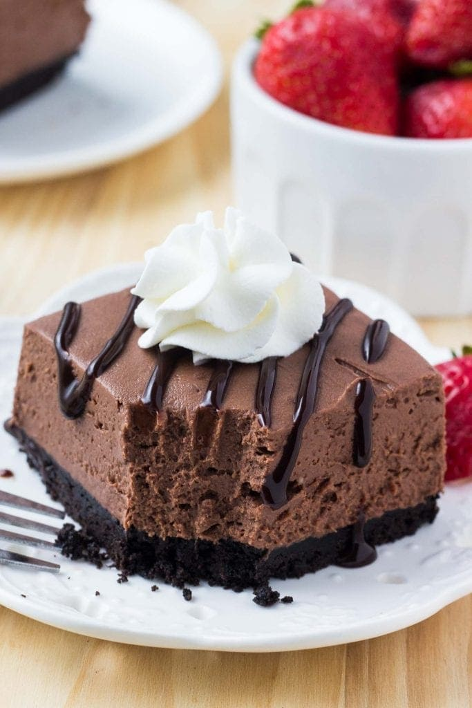 No Bake Chocolate Cheesecake Lil Luna