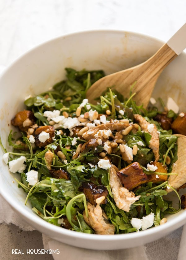 Balsamic Pumpkin & Chicken Salad