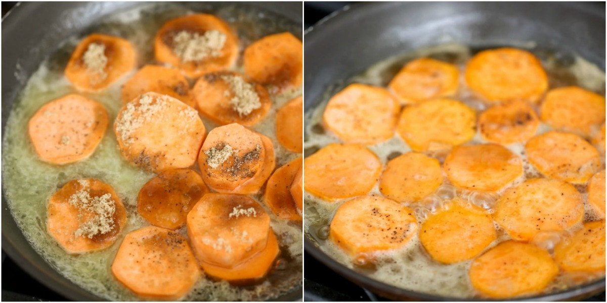 How to Make Candied Sweet Potatoes (in butter and brown sugar)
