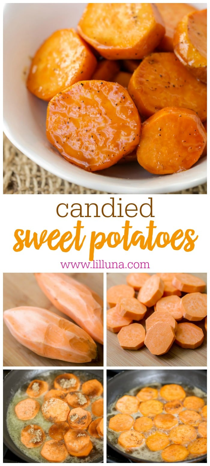 Best Candied Sweet Potatoes