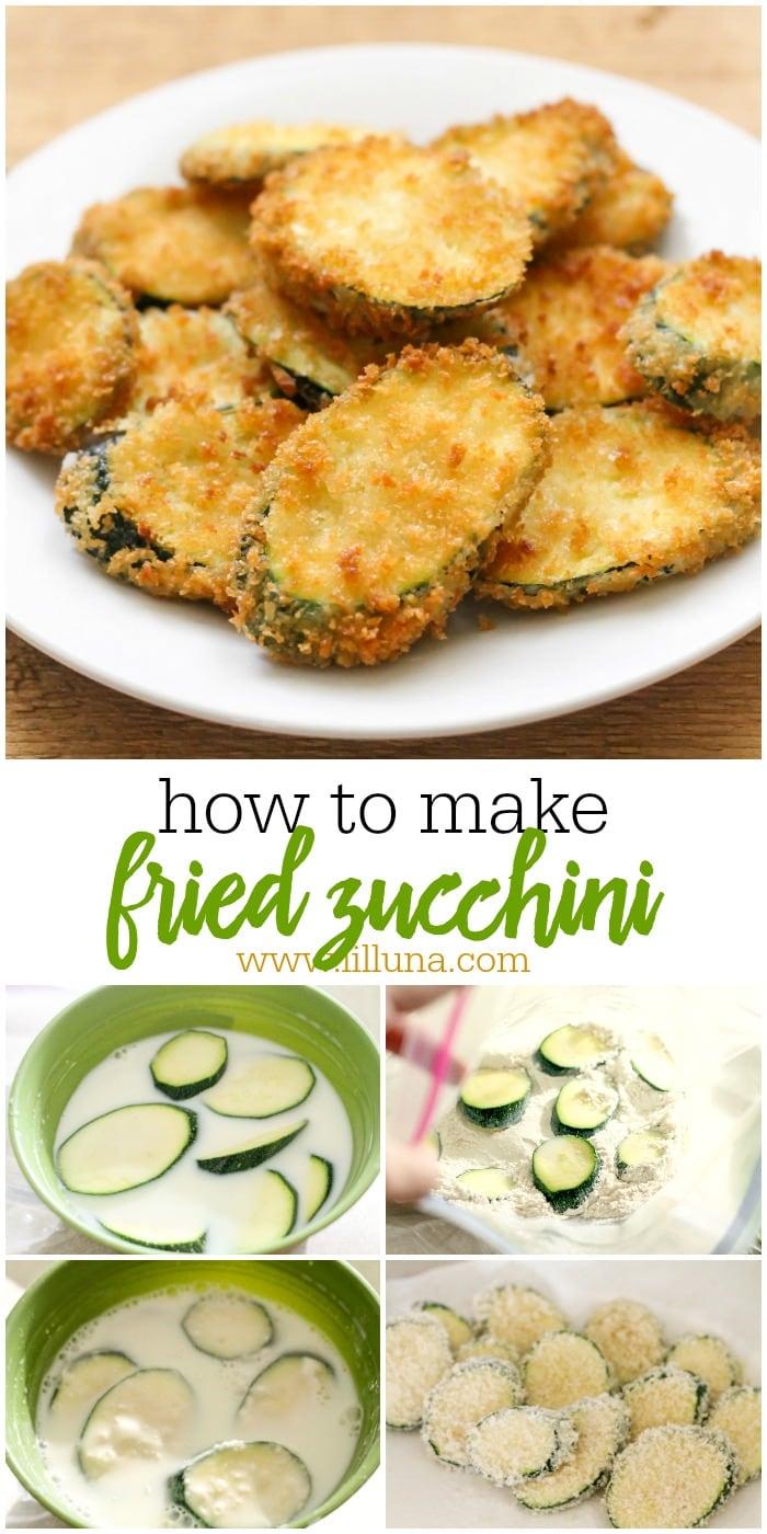 Deep Fried Zucchini recipe