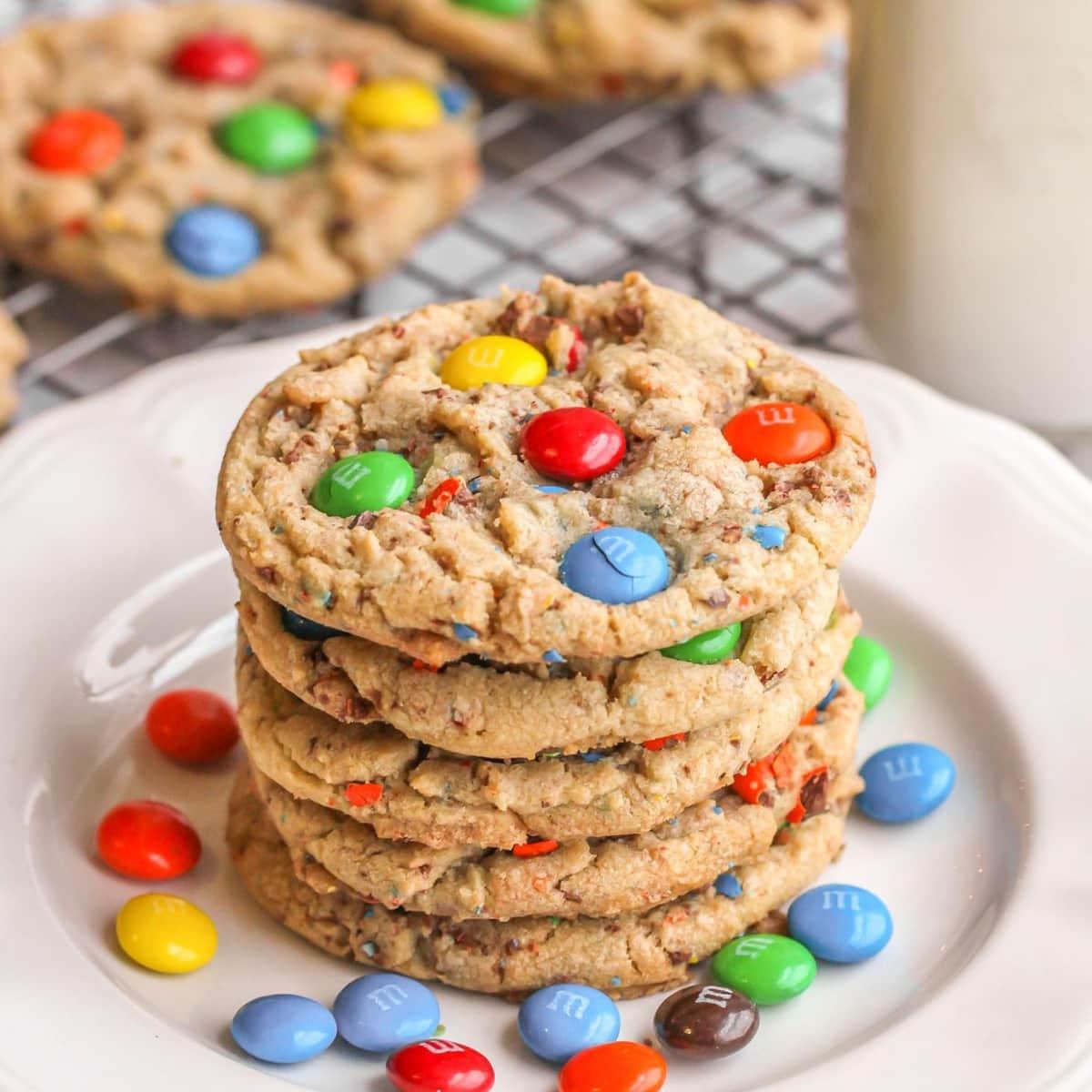 Best M M Cookies Recipe Soft Chewy Lil Luna