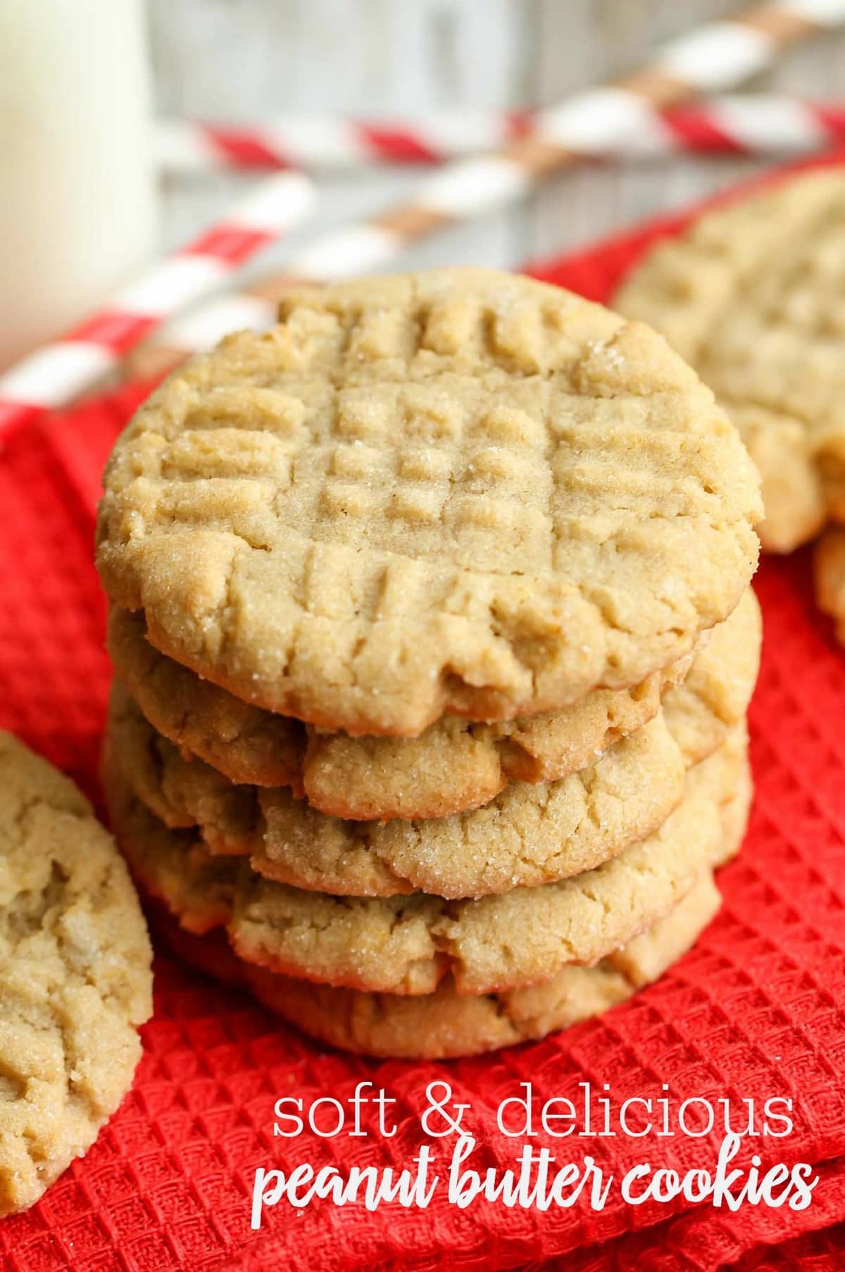 Easy Soft Peanut Butter Cookies Lil Luna
