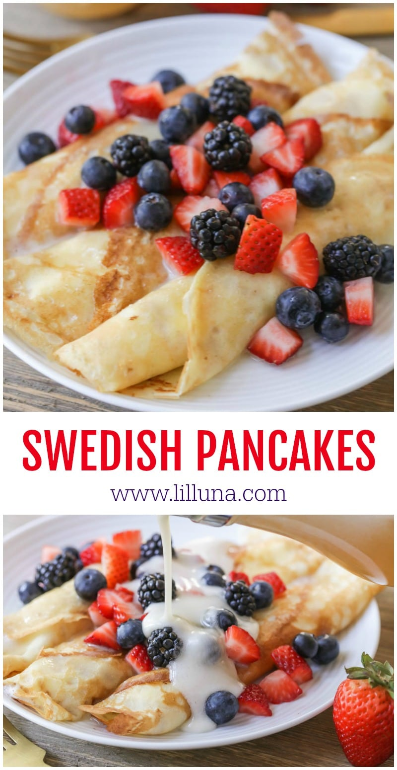 Best Swedish Pancakes recipe