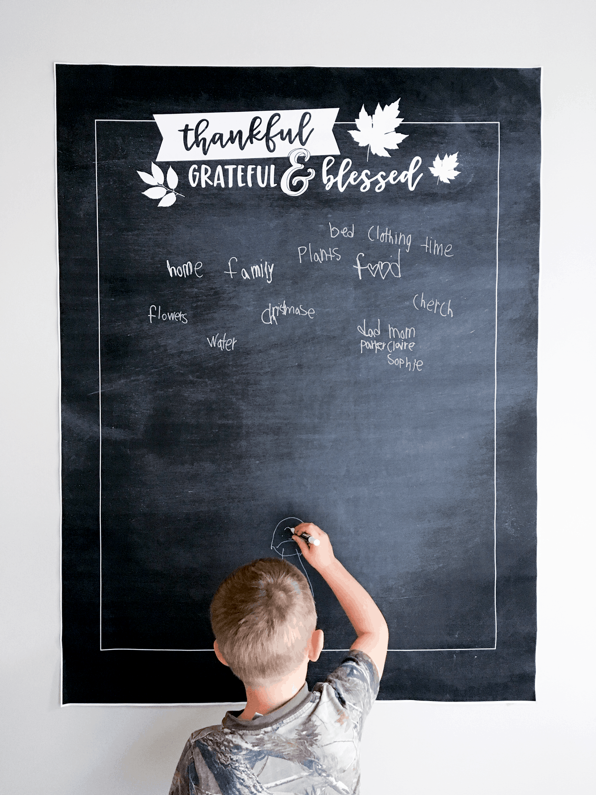 Giant Thankful Poster