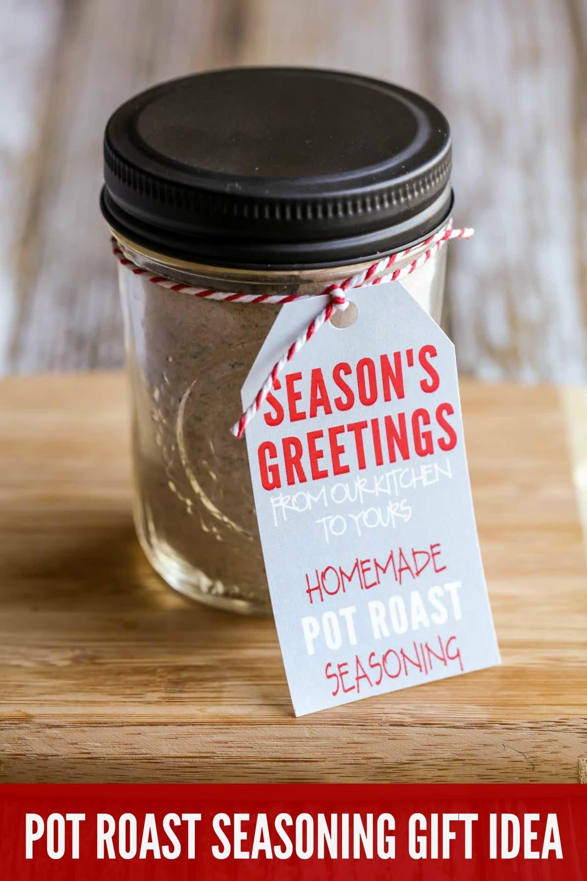 Homemade Pot Roast Seasoning Gift Idea