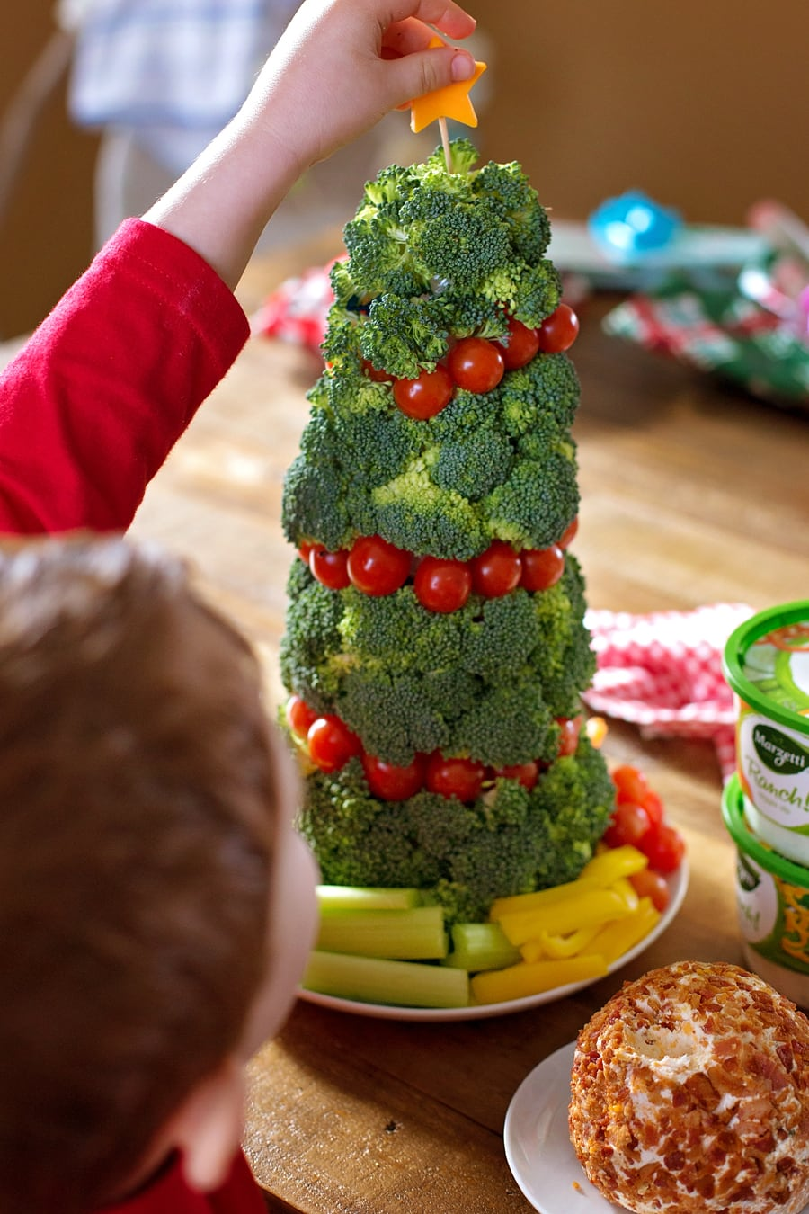 Bacon ranch cheese ball recipe lil luna with opportunities left and right to be in the kitchen creating we love getting the kids involved sure things can get crazy this time of year but the forumfinder Choice Image