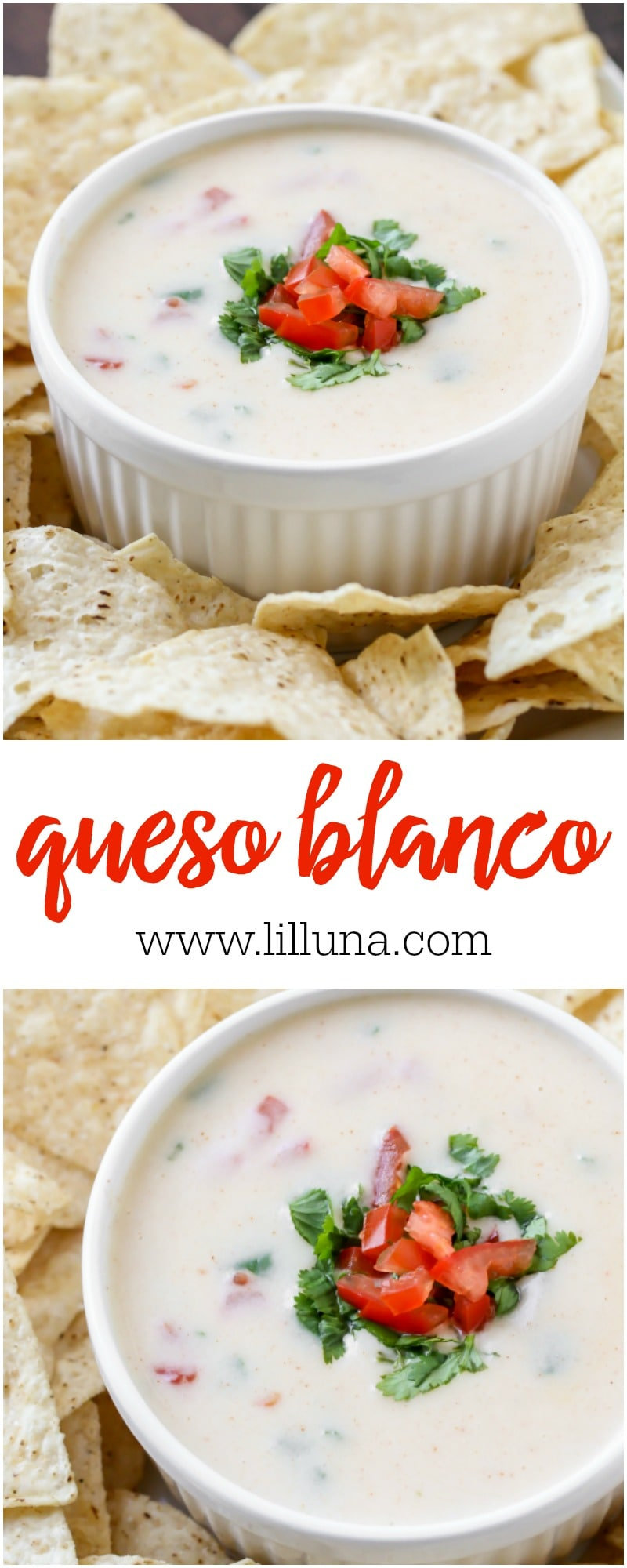 The BEST and EASIEST Queso Blanco! This stuff is so addicting!