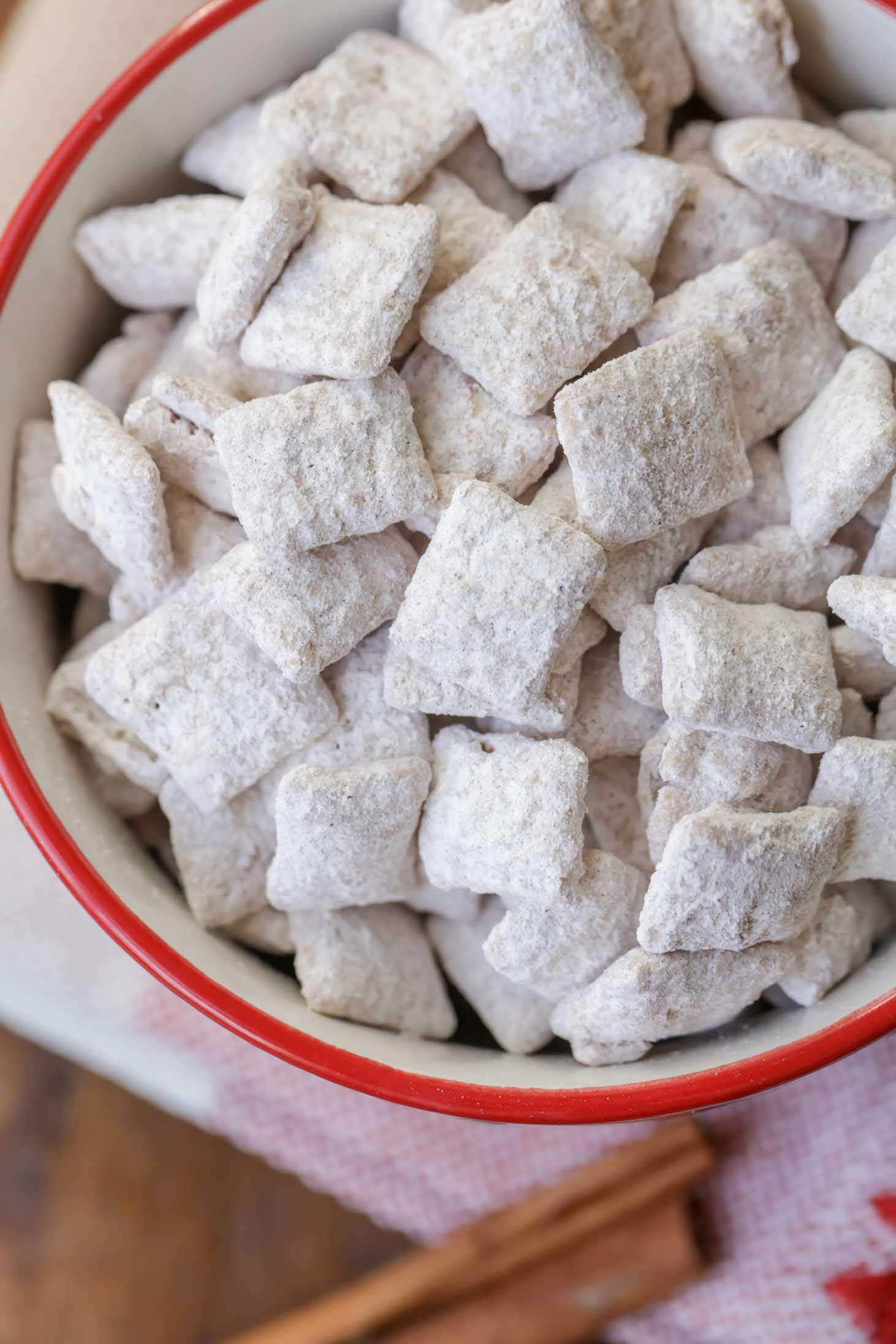 Snickerdoodle Puppy Chow Recipe Lil Luna