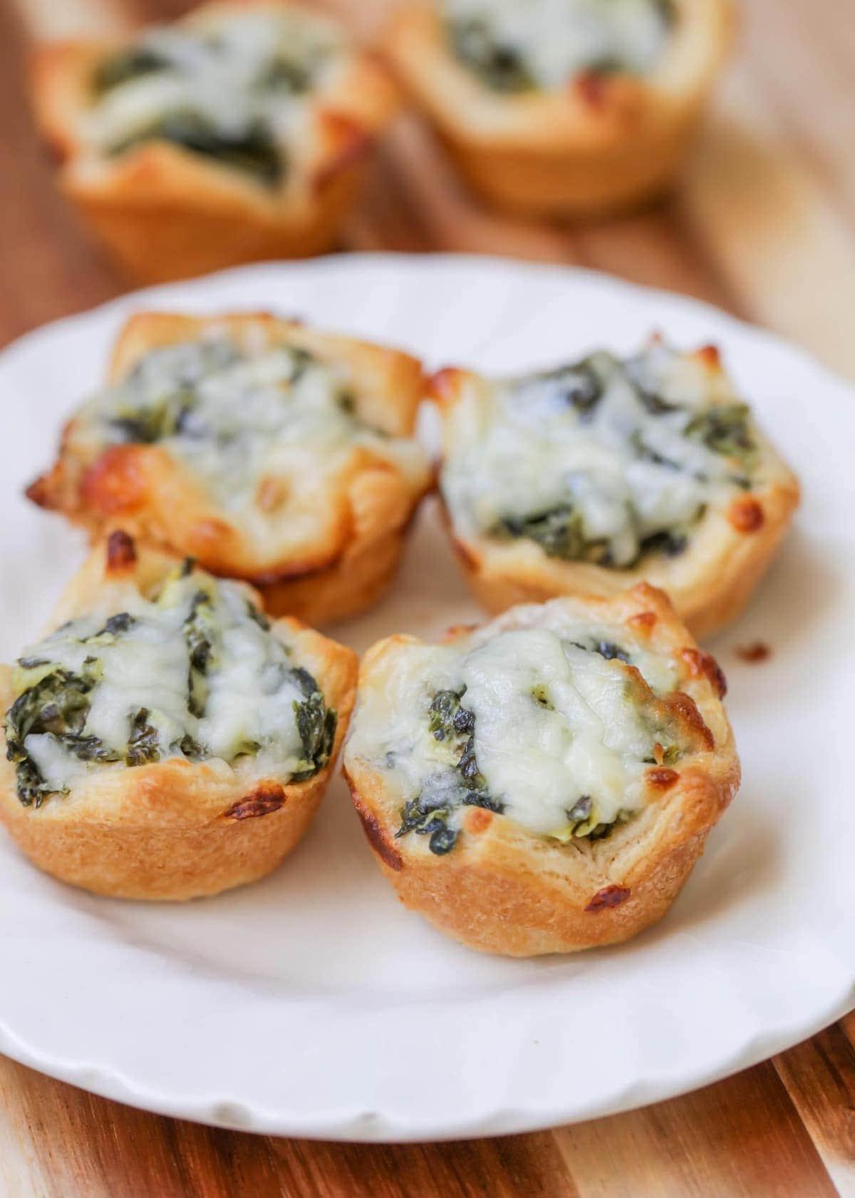 Spinach Artichoke Bites