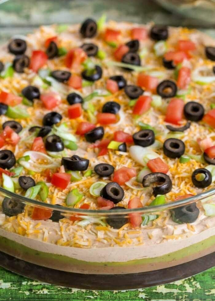 Best 7 Layer Bean Dip Recipe Perfect For Parties Lil Luna