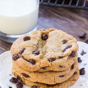 Learn how to make the world famous Neiman Marcus Chocolate Chip Cookies at home. Big, buttery & filled with chocolate chips.