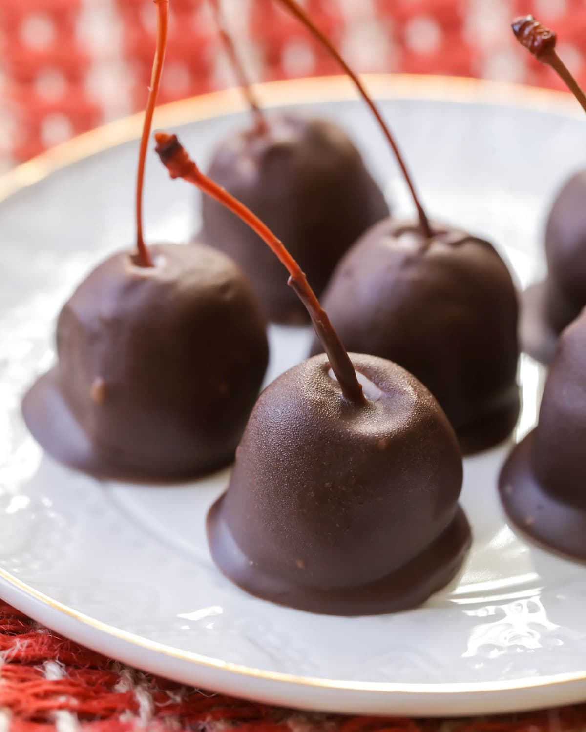 Homemade Chocolate Covered Cherries