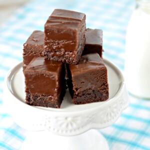 Recipe for decadent Nutella Fudge Brownies