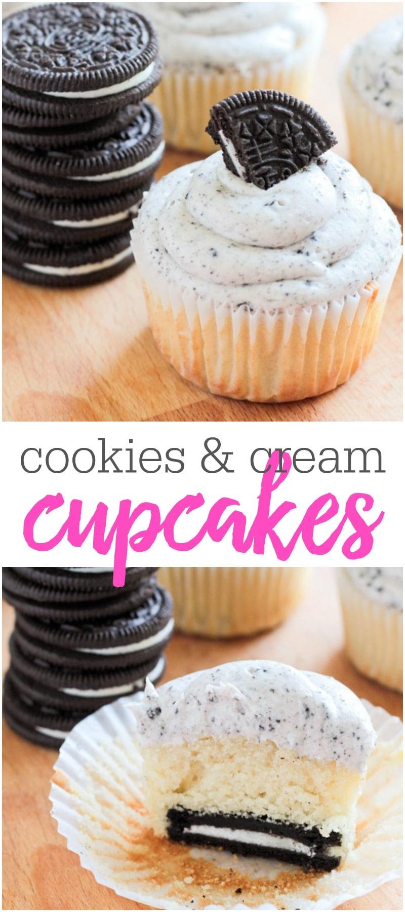 BEST Oreo Cupcakes