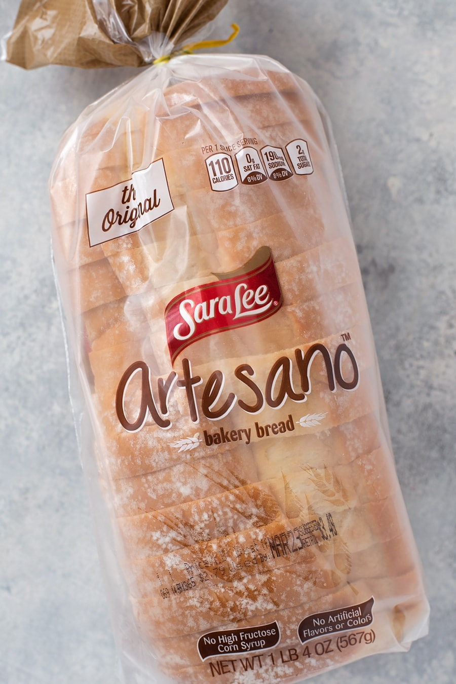 Sara Lee Artesano Baker Bread