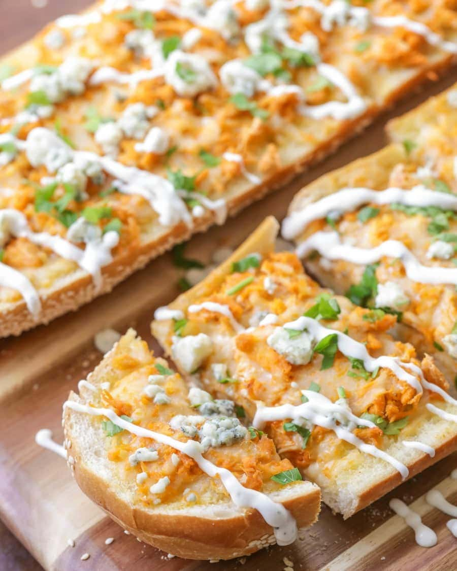 Buffalo Chicken Bread Recipe