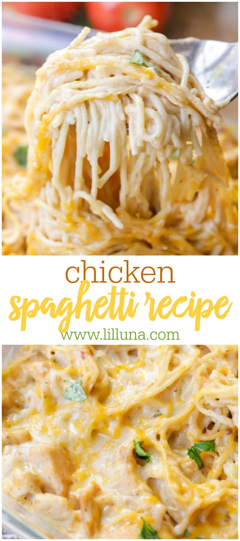 BEST Chicken Spaghetti recipe