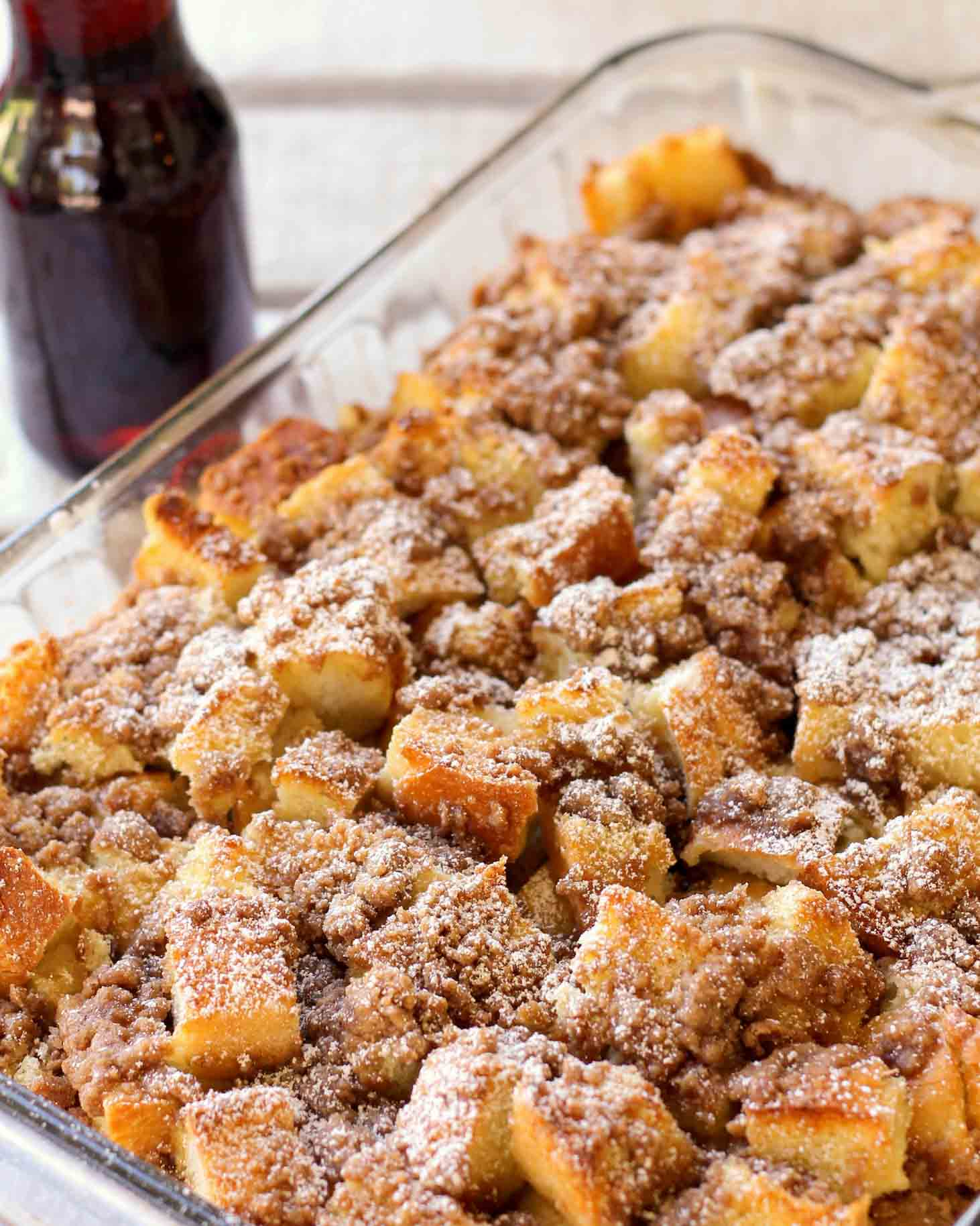 f9c67f8133bed Easy French Toast Bake Recipe (+VIDEO)