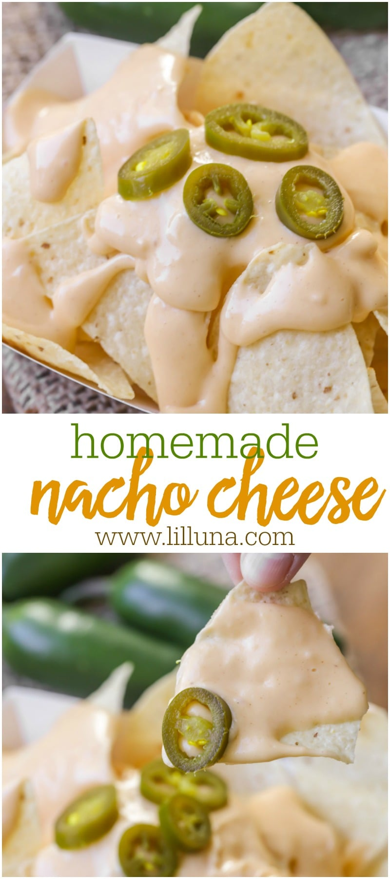 Homemade Nacho Cheese recipe