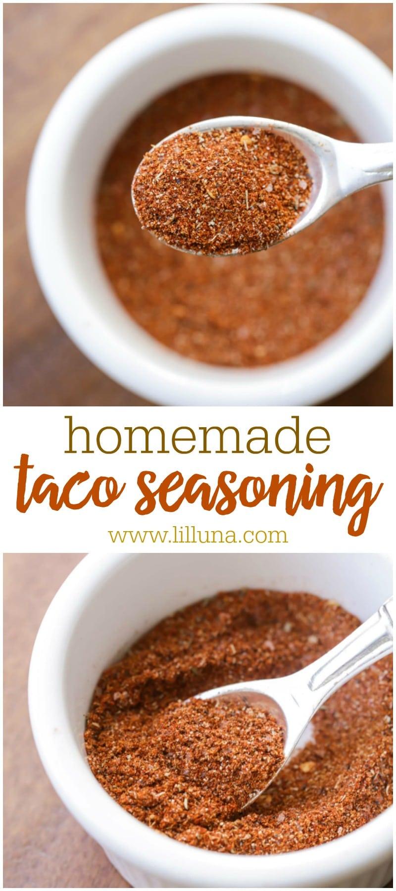BEST Homemade Taco Seasoning recipe