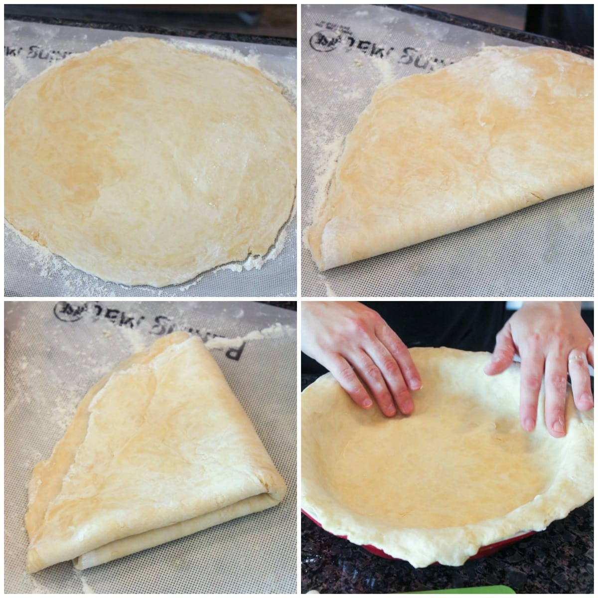 How to make Apple Pie Crust Recipe process images