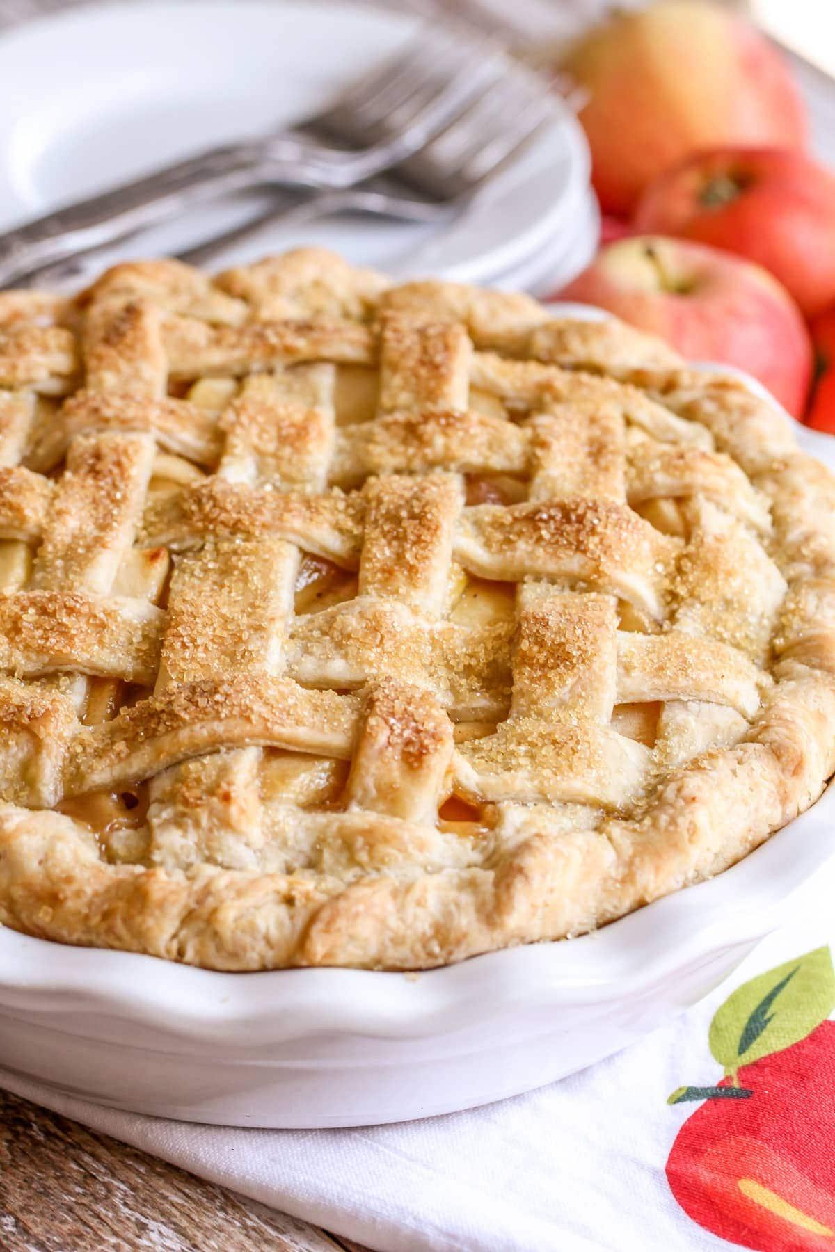BEST Homemade Apple Pie   Step by Step +VIDEO   Lil' Luna