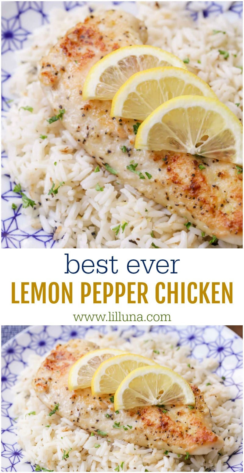 BEST Lemon Pepper Chicken