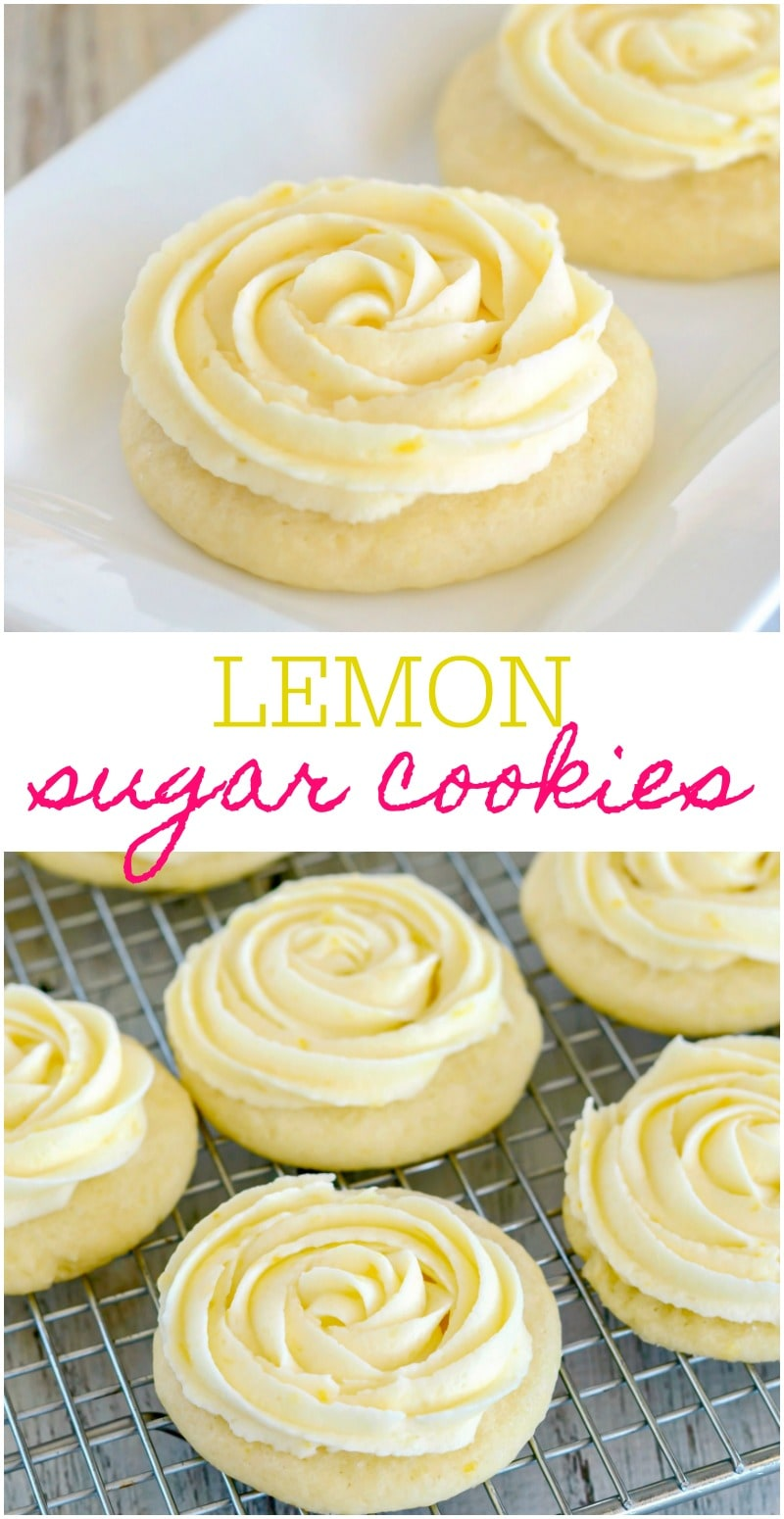 Best Lemon Sugar Cookies