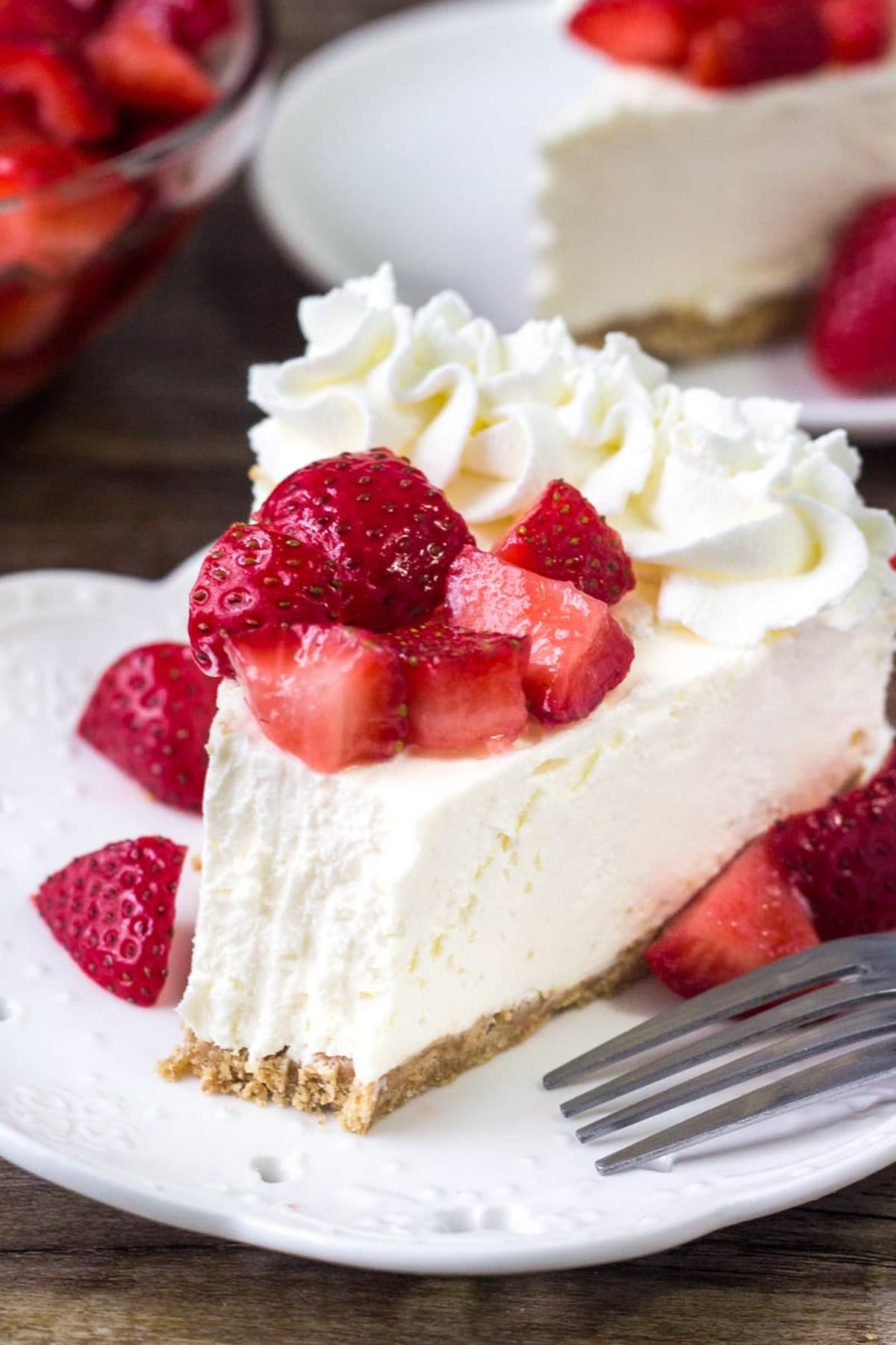 Easy No Bake Cheesecake Recipe Lil Luna