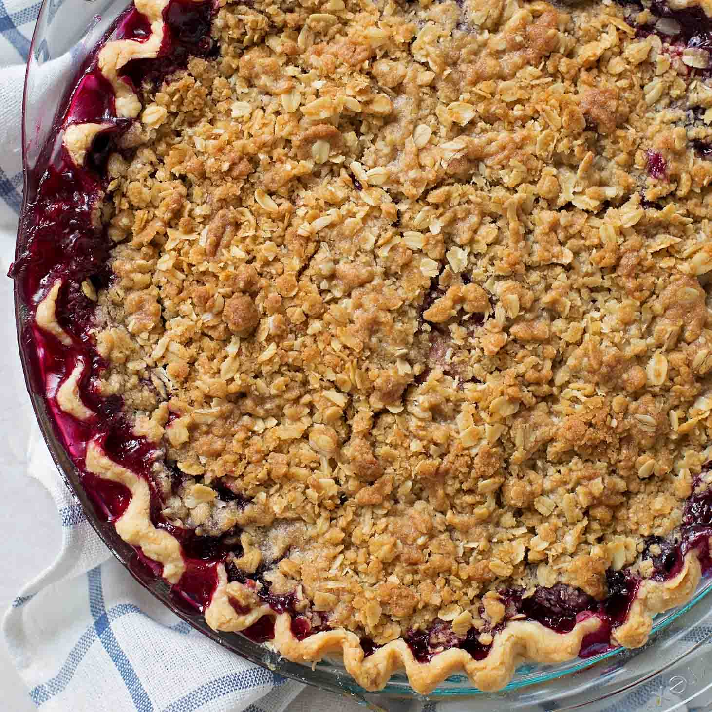 Berry Pie Crumble