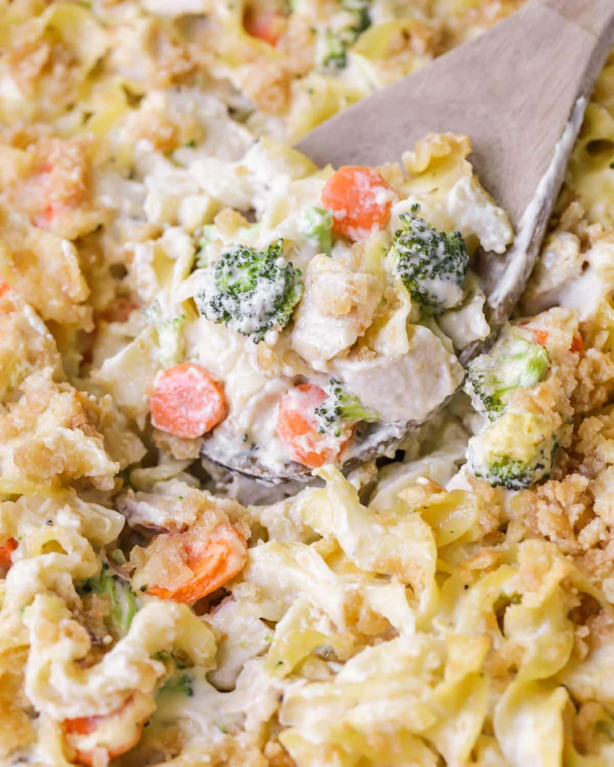 Chicken and Egg Noodle Casserole
