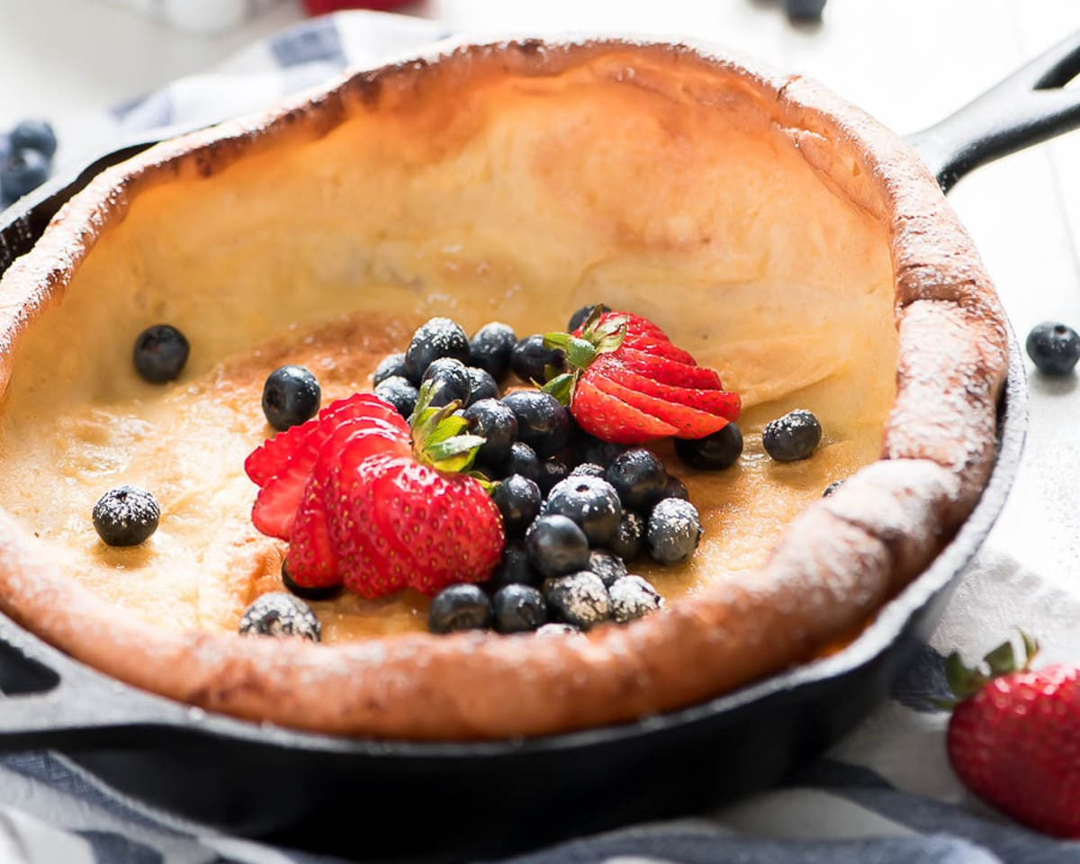 Easy Dutch Baby Pancake Recipe | Lil' Luna